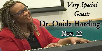 Welcome, Dr. Ouida Harding!