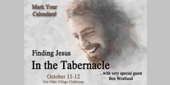 Finding Jesus in the Tabernacle… 2019 Fall Retreat!