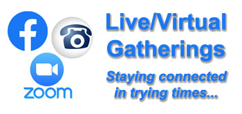 Upcoming Virtual Events, Gatherings, & Meetings